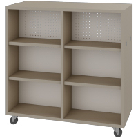 Double-face-Linear-cabinet