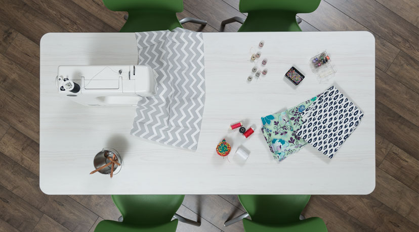 Makerspace-craft-table